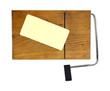 Reduced Fat Cheese Cutting Board
