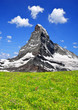 Beautiful mount Matterhorn - Swiss alps