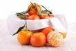 tangerine or mandarin fruit