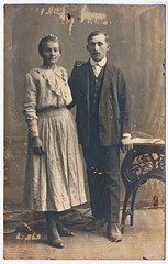 Lovers - circa 1925