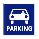 Autocar parking sign - 57854365