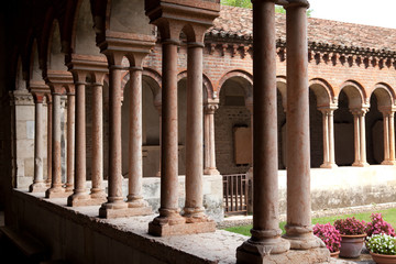 Colonnades, Church of San Zeno, Verona