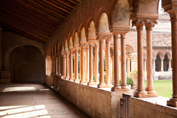 Colonnade, Church of San Zeno, Verona