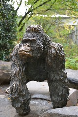 Sculpture of a gorilla
