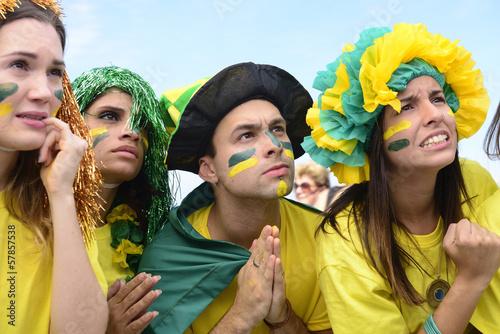 Brazilian soccer fans concerned