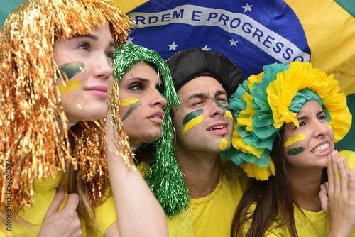 Brazilian soccer fans concerned.