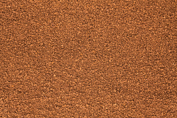 Background out of granulated coffee