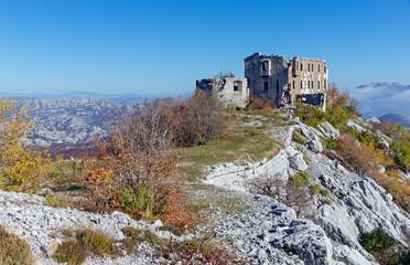 Fortress Kom. Montenegro
