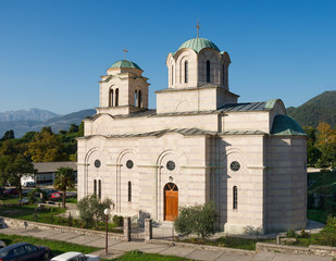 Church of St. Sava. Tivat, Montenegro