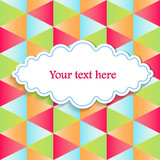 abstract  background for your text
