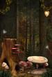 Enchanted nature series - Enchanted mushrooms place