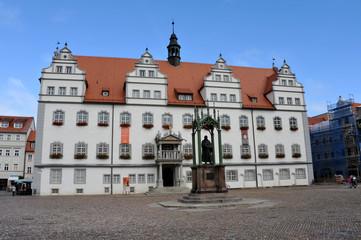 Rathaus Wittenberg, Lutherstadt, Markt, Reformation, Luther