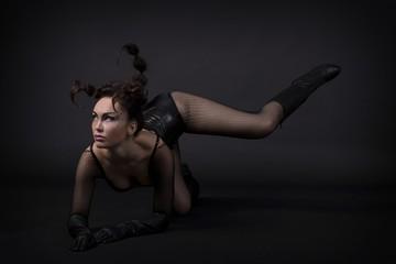 Girl scorpion