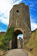 Colton's Gate at Dover Castle in Kent, England, United Kingdom