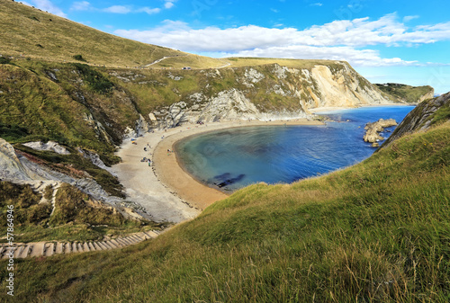 Devon Jurassic Coast near Durdle Door