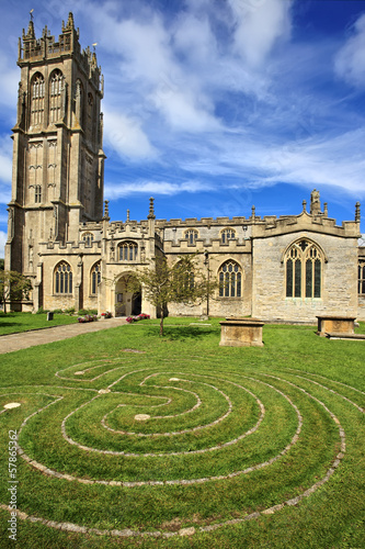 St John's church in Glastonbury, Somerset, England - 57865362