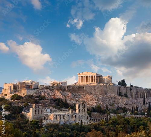 Staande foto Athene Parthenon, Athenian Acropolis, Athens, Greece