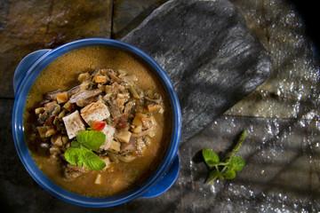 Mushroom Soup Mixed
