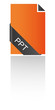 PPT Icon Banderole geschwungen