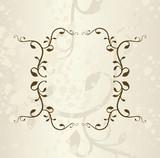 Floral Frame - 57869327