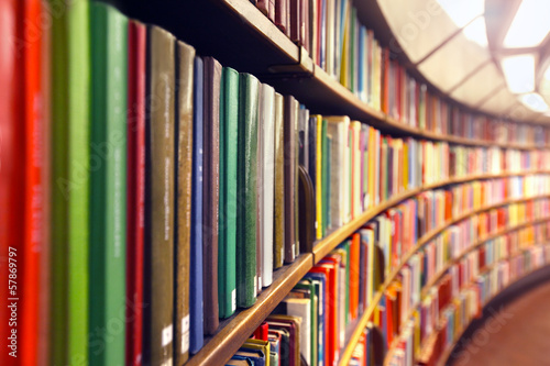canvas print picture .Library