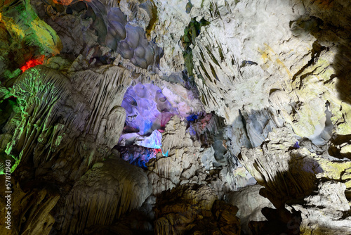 Hang Sung Sot Cave (Surprise Grotto), Ha Long Bay