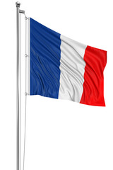 3D French flag