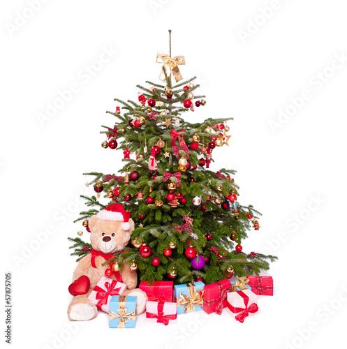gamesageddon bunter christbaum mit geschenken lizenzfreie fotos vektoren und videos kaufen. Black Bedroom Furniture Sets. Home Design Ideas