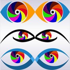 логотип глаза фото взгляд