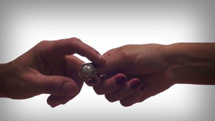 Diamond Ring Couple Breakup
