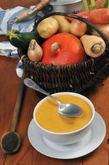 Une vraie soupe de légumes