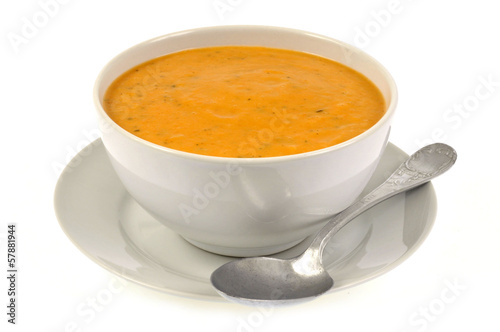 Bol de soupe de légumes