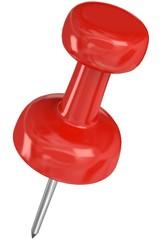 rote Pinnnadel