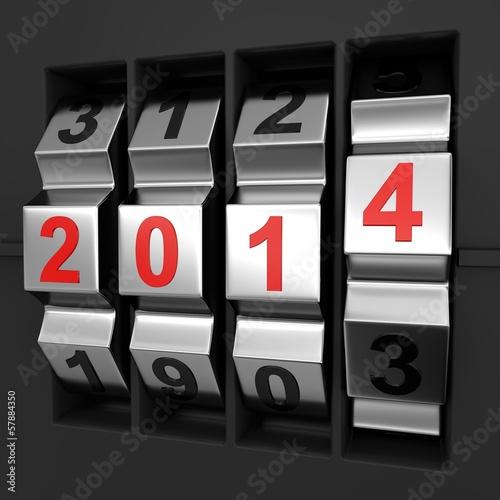 Jahreswechsel Zahlencode