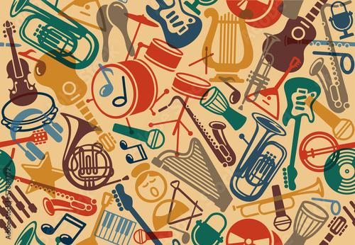 Nahtloser musikalischer Hintergrund