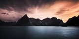 Early morning in the Reine