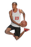 Fototapeta Basketball Player Jumping