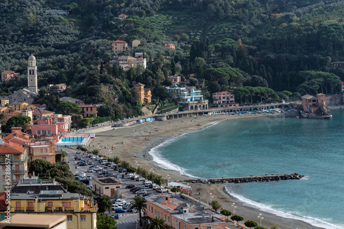 Panorama of Levanto (Liguria, Italy)