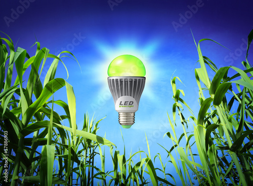 growth ecology - led lamp - green lighting
