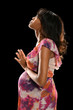 Pregnant Woman Praying