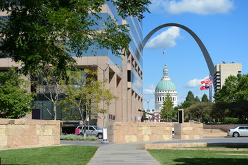 Downtown Saint Louis, Missouri