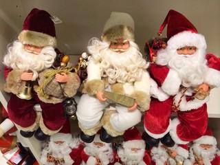 Weihnachtsmannpuppen