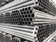 Leinwanddruck Bild - Metal pipes.