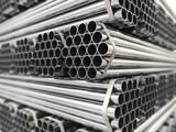 Metal pipes.