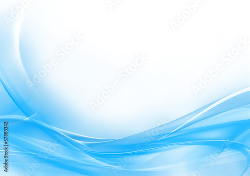 canvas print picture Abstract pastel blue and white background