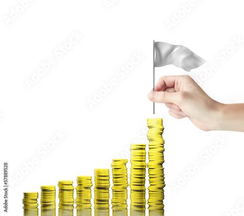 gold coins chart