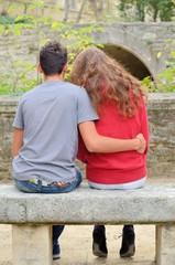 Couple de jeunes