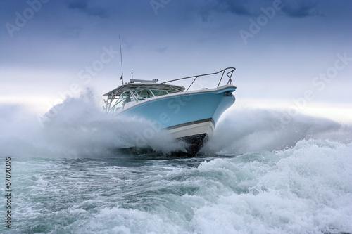 motor boat - 57890396
