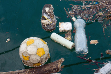 waste at sea