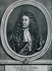 Jean de La Fontaine, french fabulist and poet